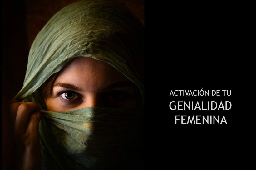 GENIALIDAD FEMENINA CON TEXTO BAJO