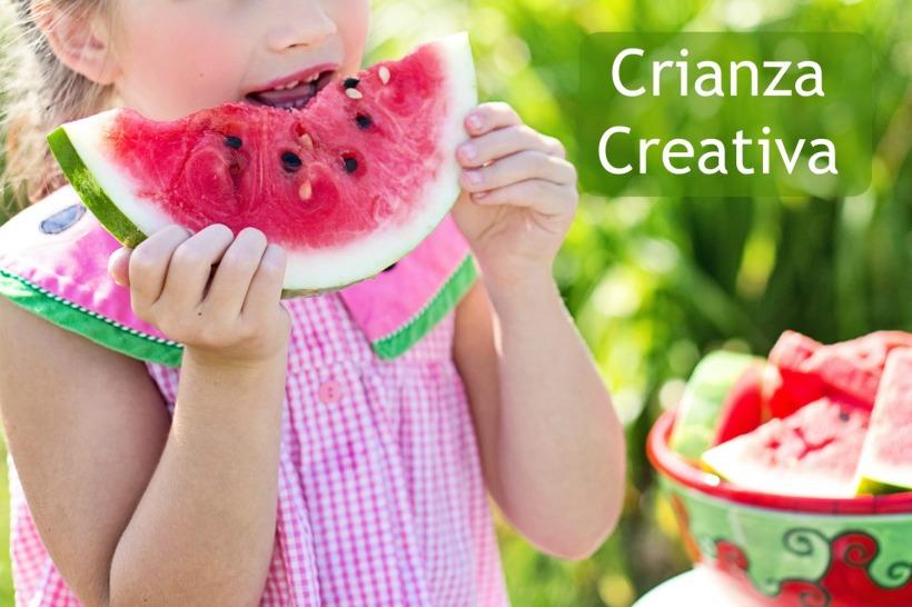 crianza creativa con texto