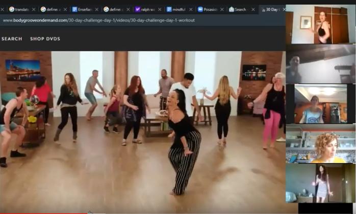 bailando juntas 2
